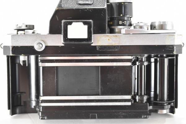 ニコン F Nikon フィルムカメラ 一眼レフ フォトミック 富士山マーク 前期型 シルバー ボディ マニュアルフォーカス DAI-955_画像5