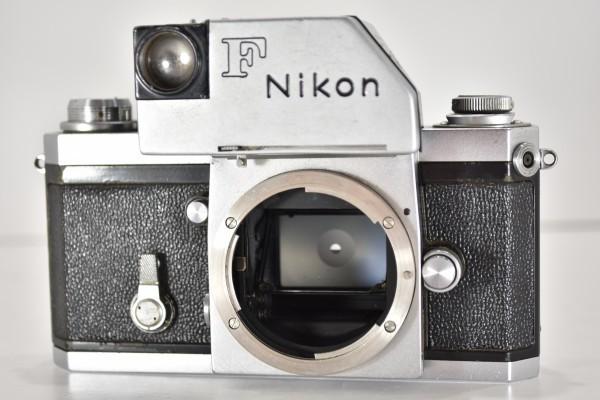 ニコン F Nikon フィルムカメラ 一眼レフ フォトミック 富士山マーク 前期型 シルバー ボディ マニュアルフォーカス DAI-955