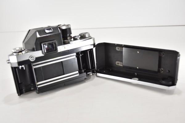 ニコン F Nikon フィルムカメラ 一眼レフ フォトミック 富士山マーク 前期型 シルバー ボディ マニュアルフォーカス DAI-955_画像4