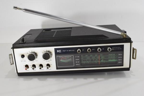 動確 当時物 National ナショナル RF-868 ワールドボーイ2000GX ラジオ Panasonic 松下電器 昭和レトロ DAI-982_画像6