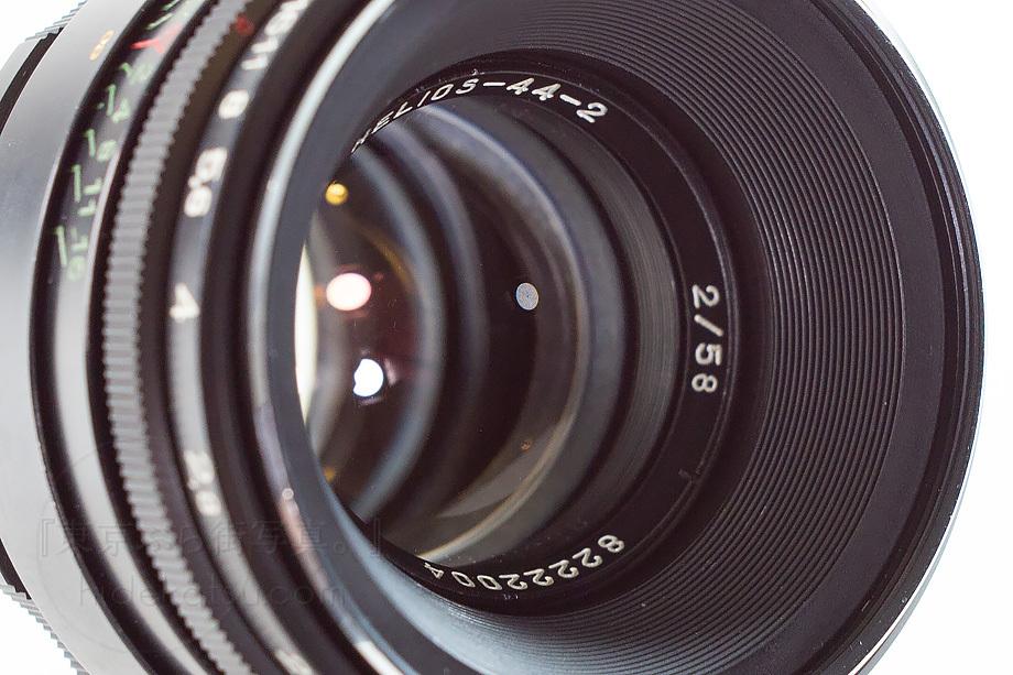 ぐるぐるボケのヘリオス【分解清掃済み・撮影チェック済み】Helios 44-2 58mm F2.0 各社用マウントアダプタ選べます_91h_画像4