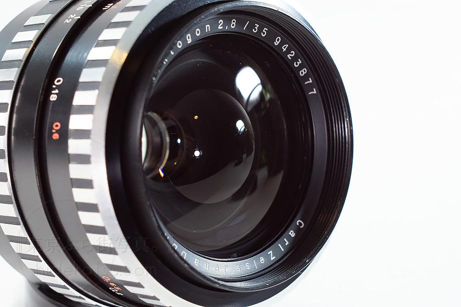 銘玉フレクトゴン 35mm ゼブラ ケース付き【分解清掃済み・撮影チェック済み】Carl zeiss jena / Flektogon F2.8 35mm M42_52f_画像5