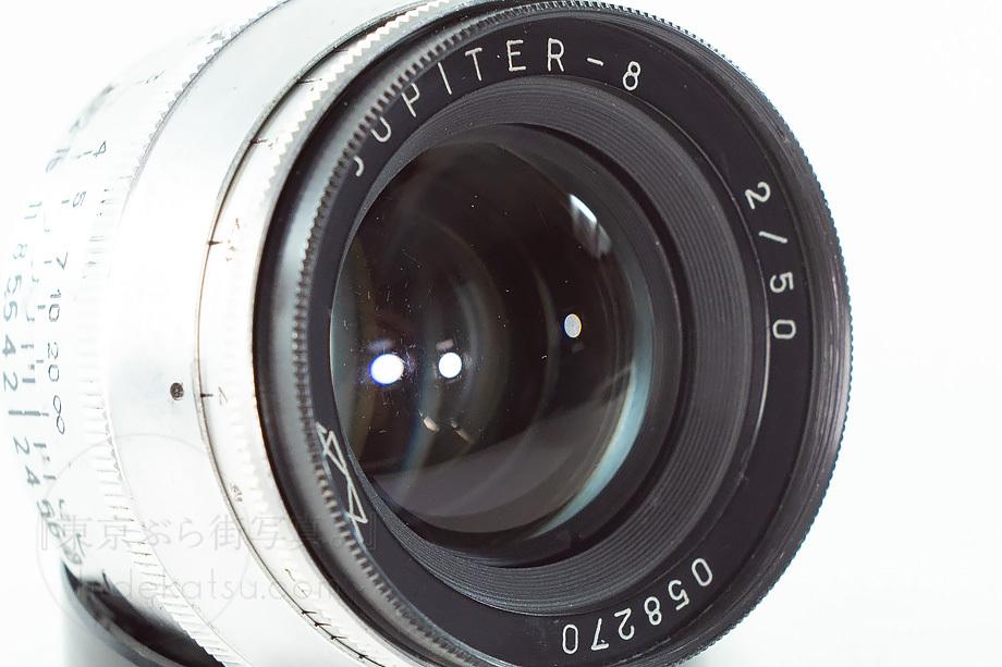 ジュピター8 シルバー【分解清掃済み・撮影チェック済み】Jupiter-8 50mm F2.0 L39(Leica L)マウント各社ミラーレス用あり_47e_画像4