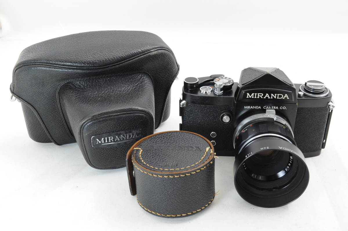 【ecoま】MIRANDA ミランダ Auto Miranda 5cm F1.9 レンズセット フィルムカメラ