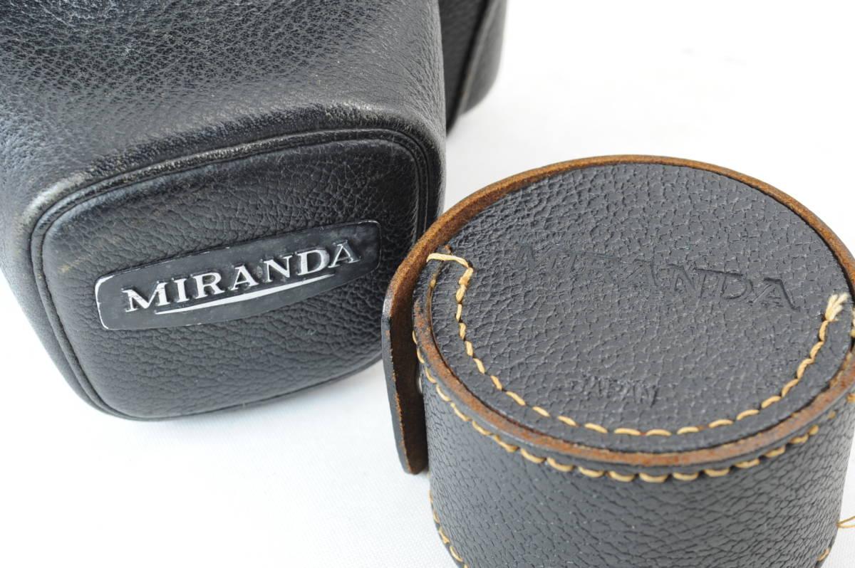 【ecoま】MIRANDA ミランダ Auto Miranda 5cm F1.9 レンズセット フィルムカメラ_画像2