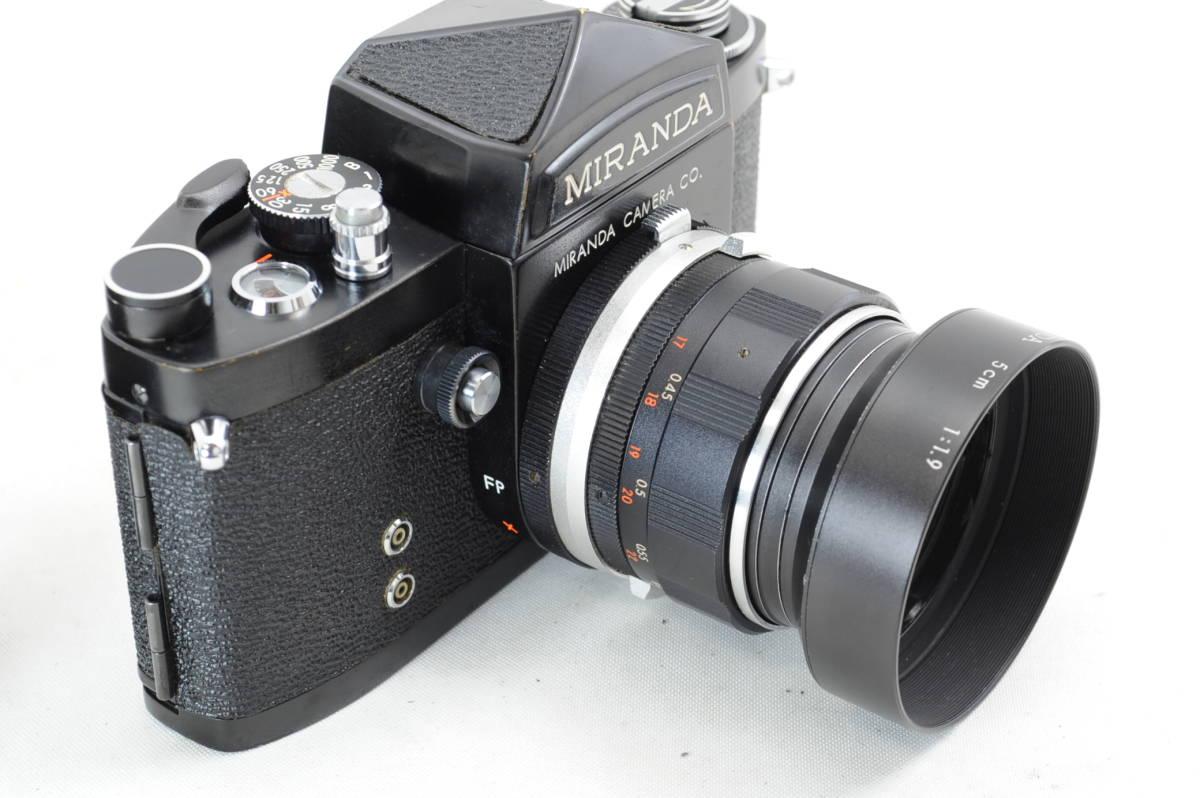 【ecoま】MIRANDA ミランダ Auto Miranda 5cm F1.9 レンズセット フィルムカメラ_画像4