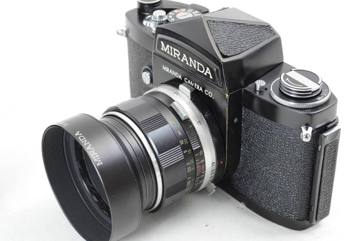 【ecoま】MIRANDA ミランダ Auto Miranda 5cm F1.9 レンズセット フィルムカメラ_画像3