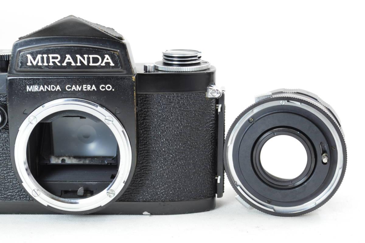 【ecoま】MIRANDA ミランダ Auto Miranda 5cm F1.9 レンズセット フィルムカメラ_画像8