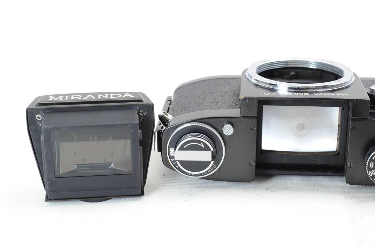 【ecoま】MIRANDA ミランダ Auto Miranda 5cm F1.9 レンズセット フィルムカメラ_画像9