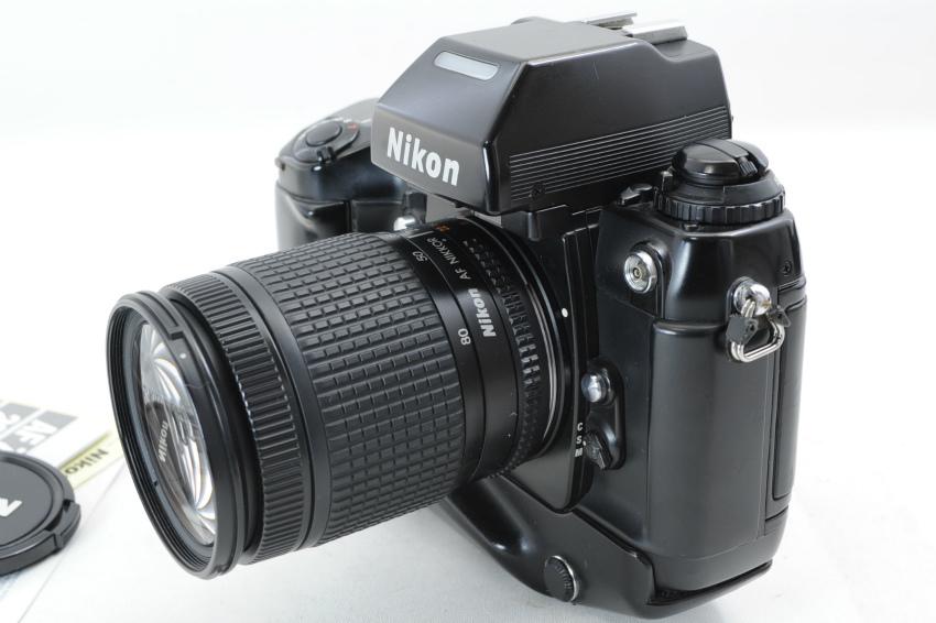 【ecoま】ニコン NIKON F4S MB-21 ズームレンズ付き 動作品 フィルムカメラ_画像3