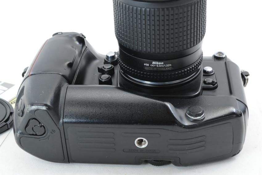 【ecoま】ニコン NIKON F4S MB-21 ズームレンズ付き 動作品 フィルムカメラ_画像6