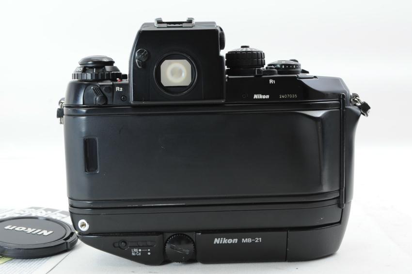 【ecoま】ニコン NIKON F4S MB-21 ズームレンズ付き 動作品 フィルムカメラ_画像7