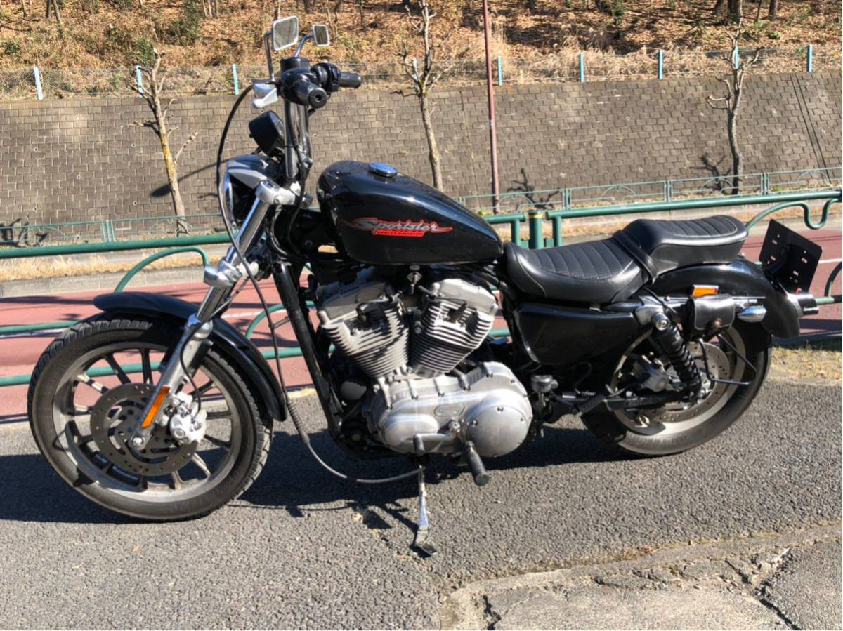 XL883 2005年 実動車 キャブレター 車検31年6月まで 東京都八王子市より