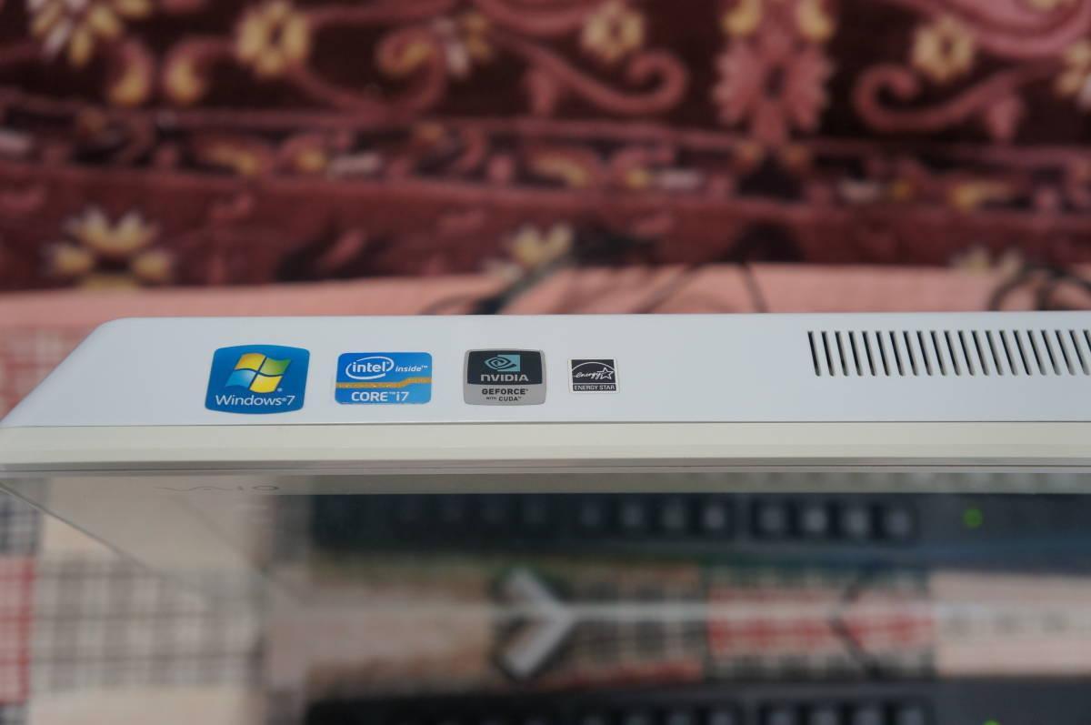 ソニーSONY VAIO Lシリーズ VPCL24AJ Core i7 GPU nVIDIA GeForce GT 540M 4GB 1TB リカバリー領域あり_画像3