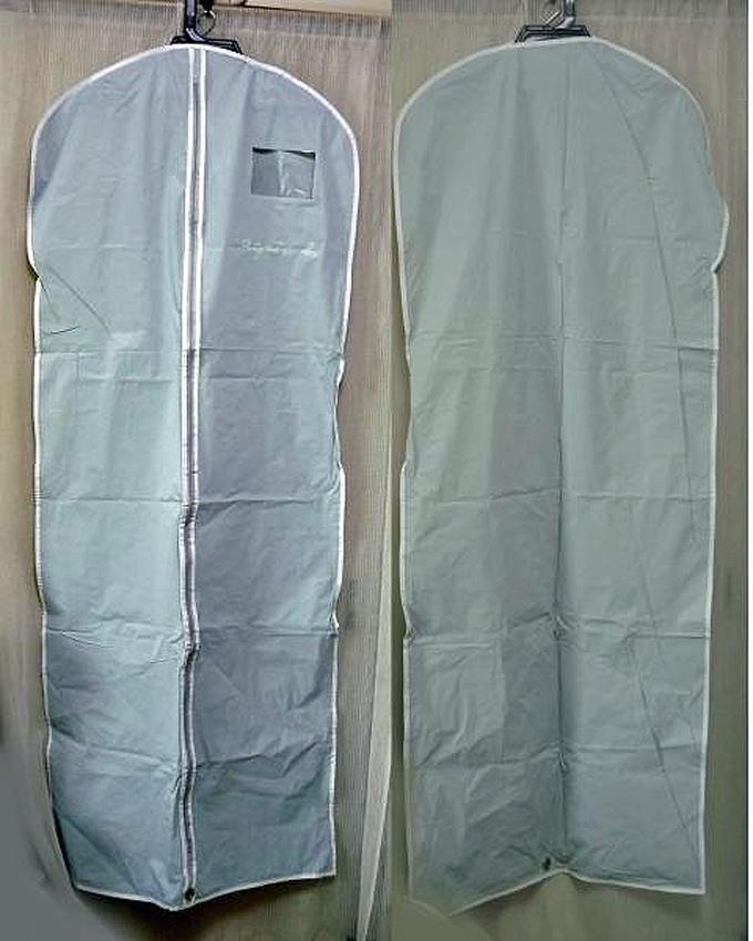 即決 82 アニエスベー agnes.b ロング洋服カバー コートカバー・ワンピースカバー_画像2
