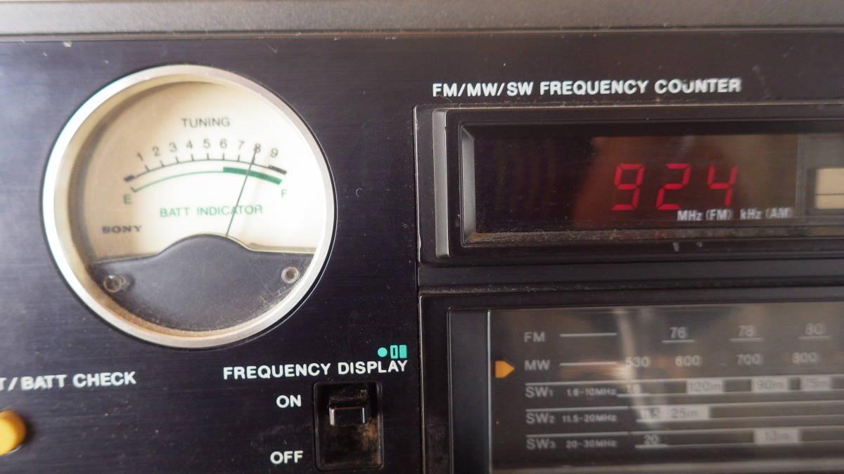 SONY名機-動作確認済 ◆FM/AM マルチバンドレシーバー◆ ICF-6700 + 60分タイマー付_画像2