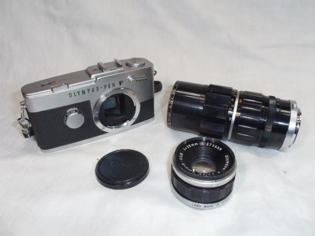 I87◇オリンパス PEN-FV◇ペン◇F1.8 38mm/3.5 50-90mm◇