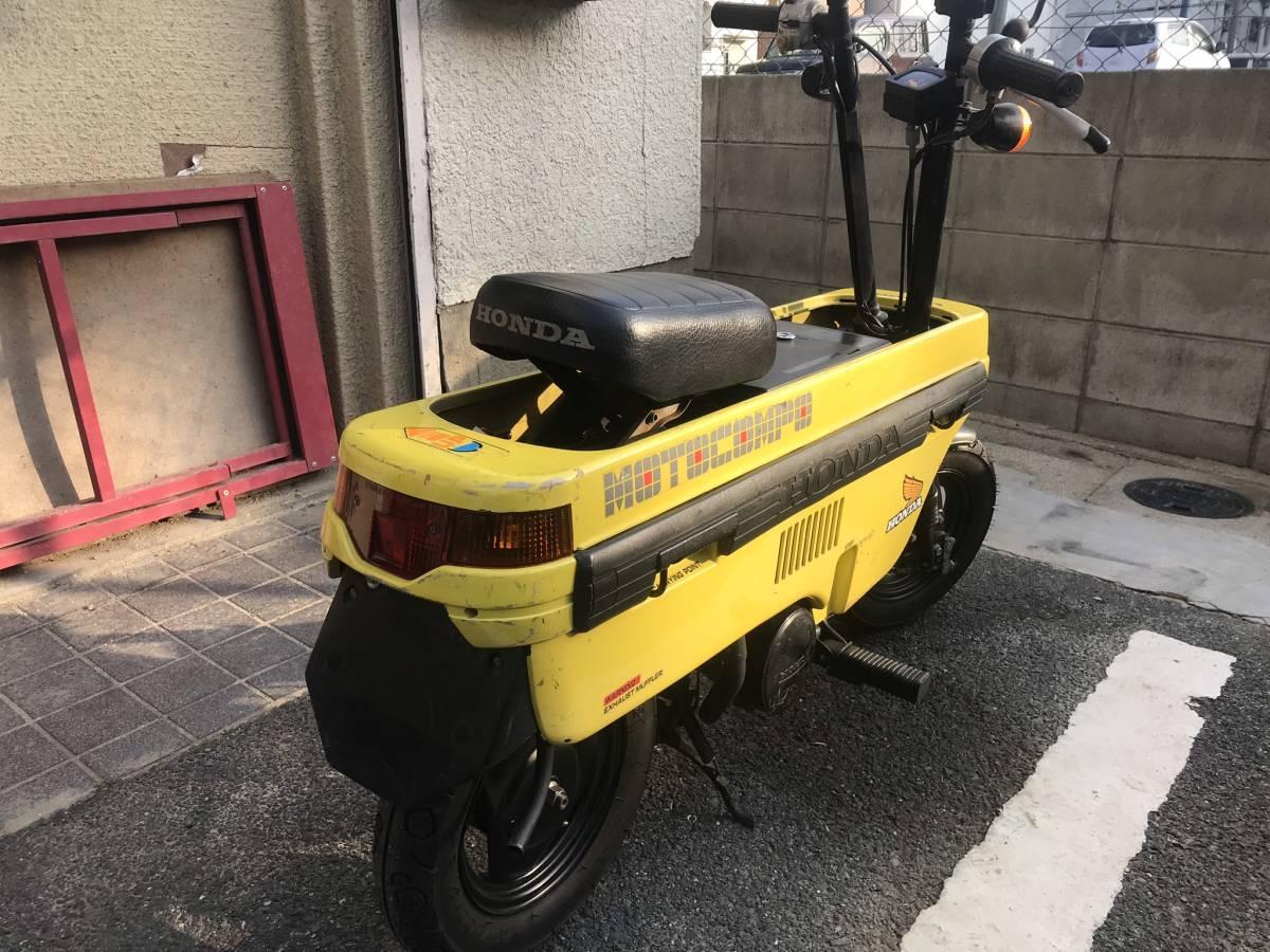 ★☆ホンダ モトコンポ イエロー 実働車☆★_画像2