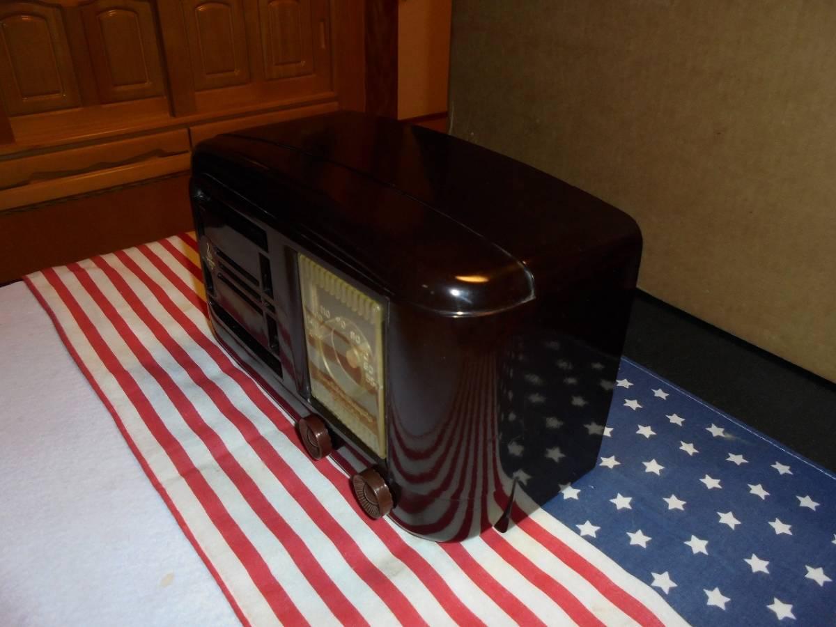 米国 EMERSON社 MODEL 507 ミッドセンチュリーデザインラジオ_画像3
