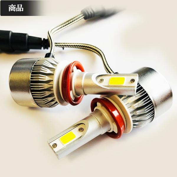 日産◆爆光LEDフォグランプ 6000k H8/H11-H16 7600LM◆ルークス H21.12~H26.1 ML21S 専用_画像2