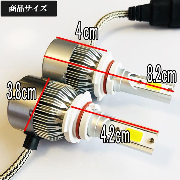 ホンダ◆爆光LEDフォグランプ 6000k HB4/9005 7600LM◆CR-V H16.9~H18.9 RD6・7 専用_画像3