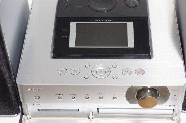即決★SONY ソニー☆HDD搭載 ネットワークオーディオシステム NAS-M75HD NET JUKE★高音質_画像3