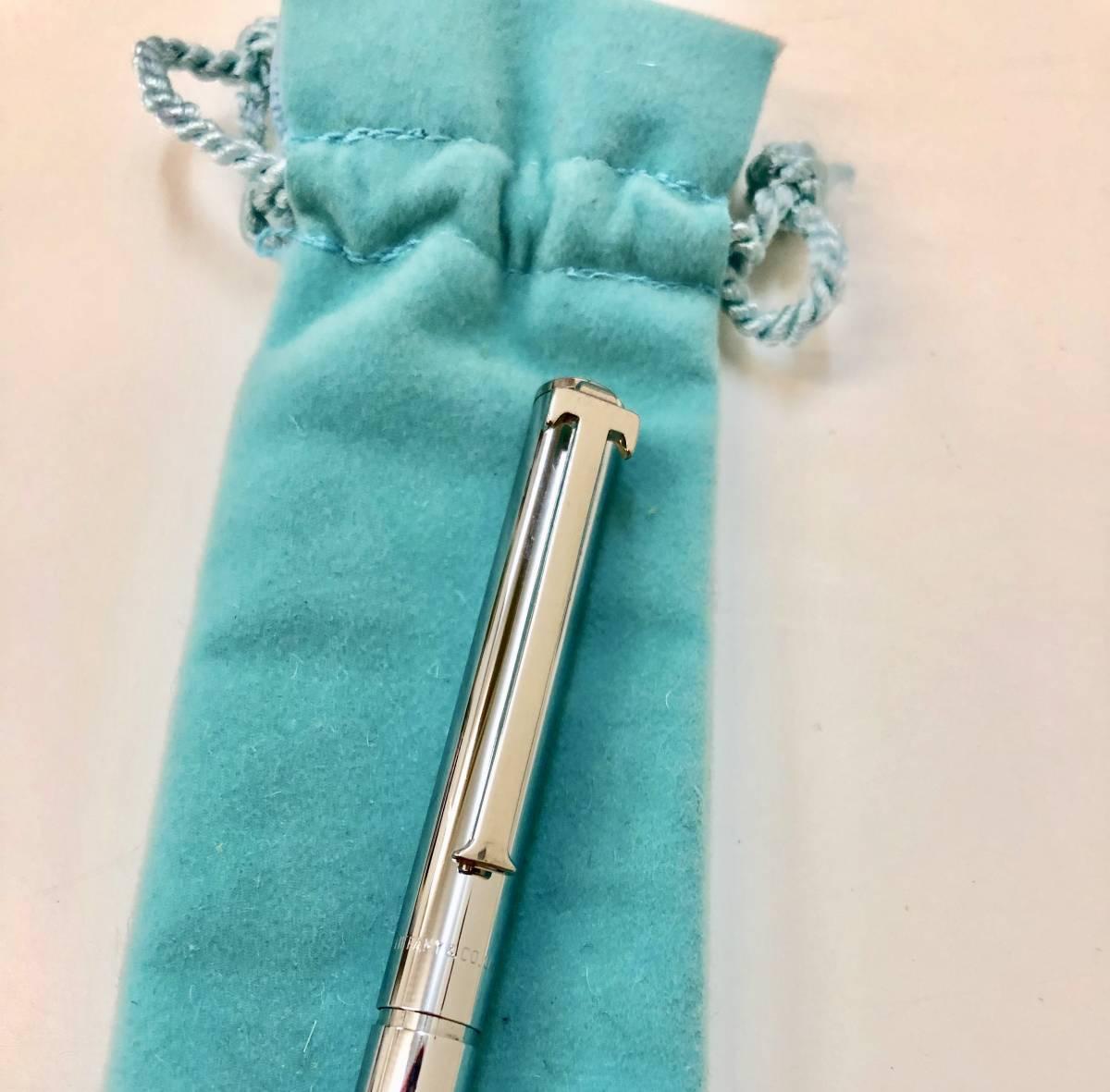 【中古】TIFANY&Co. ティファニーシルバーリング ネックレス ボールペン 4点セット_画像10