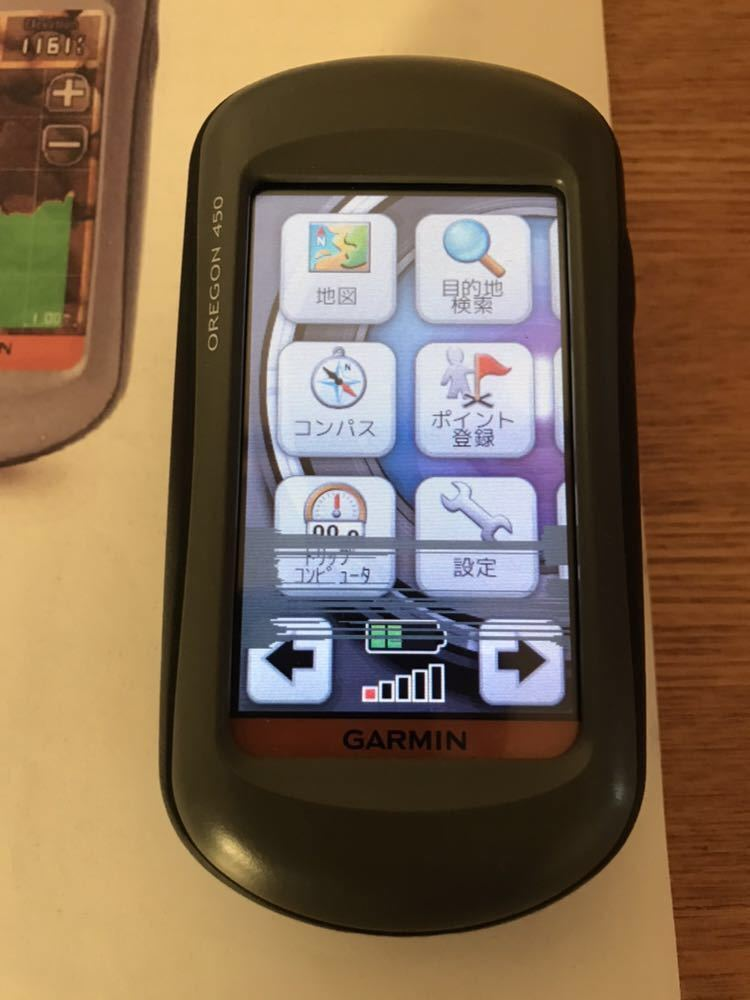 ガーミン GPS OREGON 450 ハンディGPS 難あり ジャンク おまけ付き
