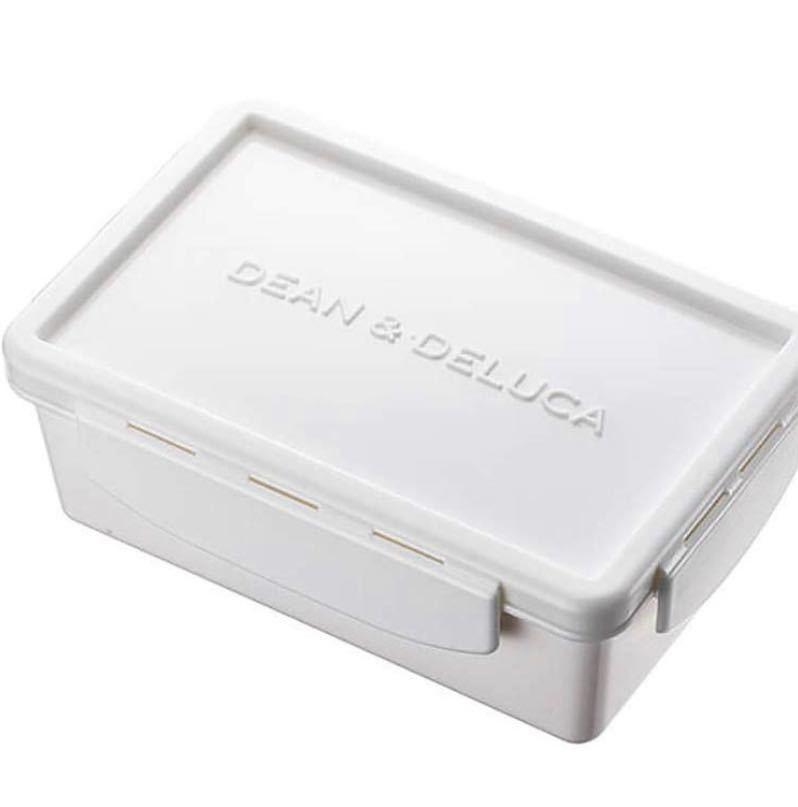 新品★DEAN&DELUCA ディーンアンドデルーカ 蓋付き ランチボックス S 弁当箱
