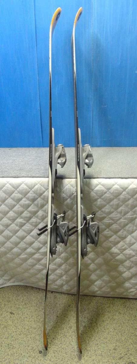 【YU505】DYNASTAR ダイナスター スキー板 ビンディングセット Driver X07 LOOK AIS 全長約159cm SKI スポーツ_画像2