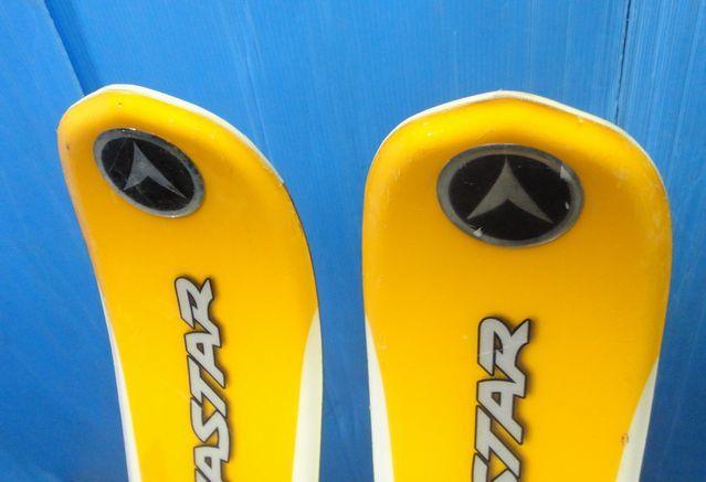 【YU505】DYNASTAR ダイナスター スキー板 ビンディングセット Driver X07 LOOK AIS 全長約159cm SKI スポーツ_画像8