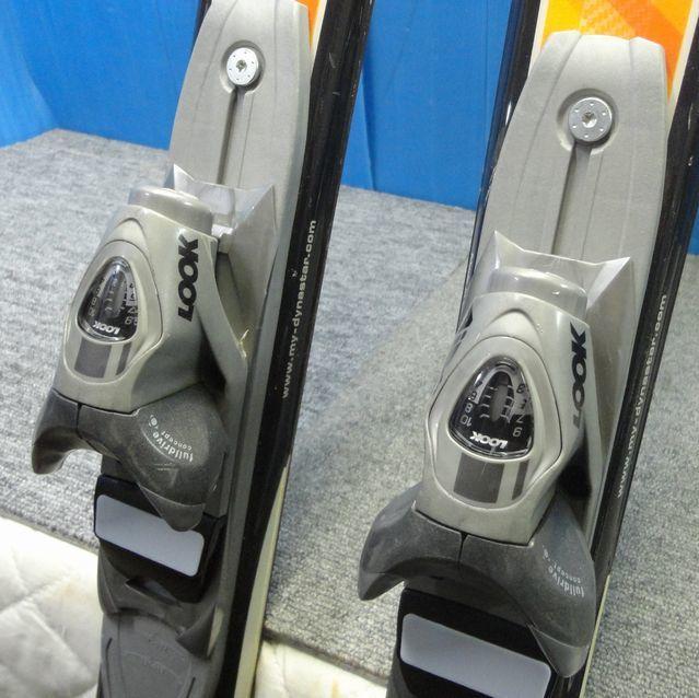 【YU505】DYNASTAR ダイナスター スキー板 ビンディングセット Driver X07 LOOK AIS 全長約159cm SKI スポーツ_画像5