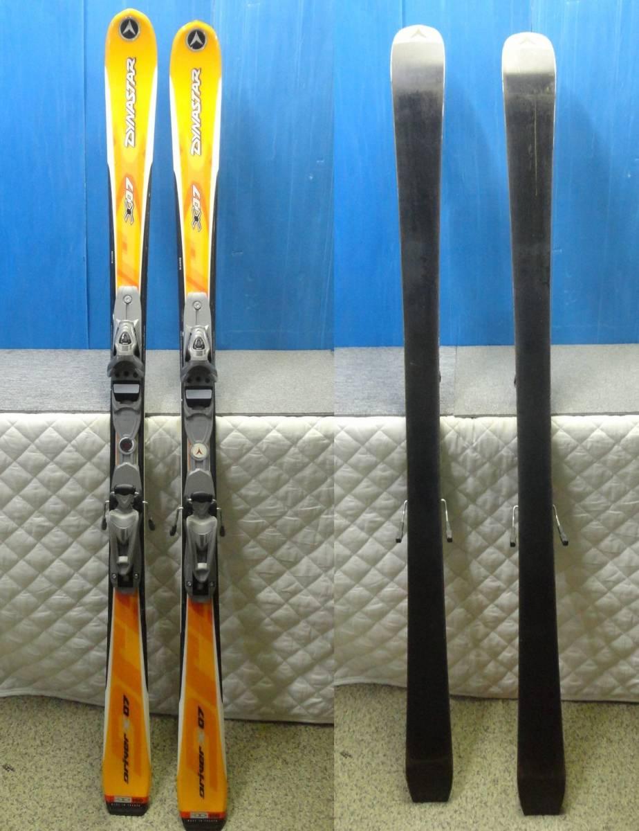 【YU505】DYNASTAR ダイナスター スキー板 ビンディングセット Driver X07 LOOK AIS 全長約159cm SKI スポーツ_画像1