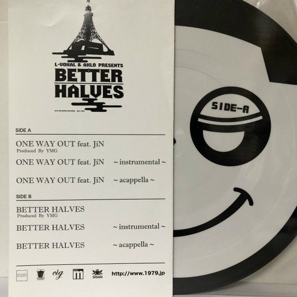 L-Vokal and Aklo Presents Better Halves / One Way Out - Better Halves *_画像2