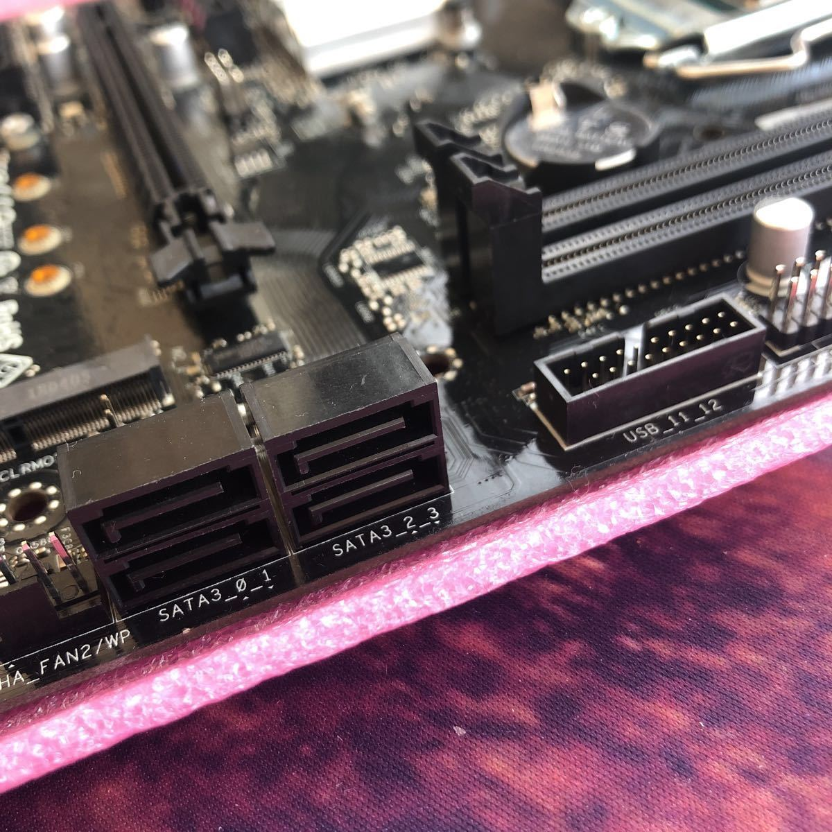 cpu インテル Core i9-9900T ES +マザーボード ASRock H310 。cpu最大 3.80 GHz 省電版 35W 8コア16スレッド_画像6