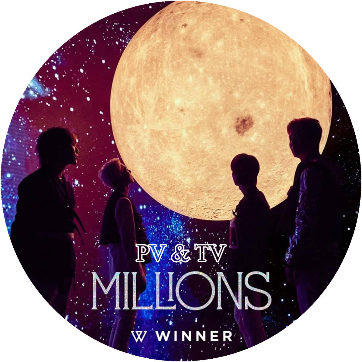 WINNER DVD WINNER [ MILLIONS ] PV & TV DVDレ―ベル印刷 字幕無し