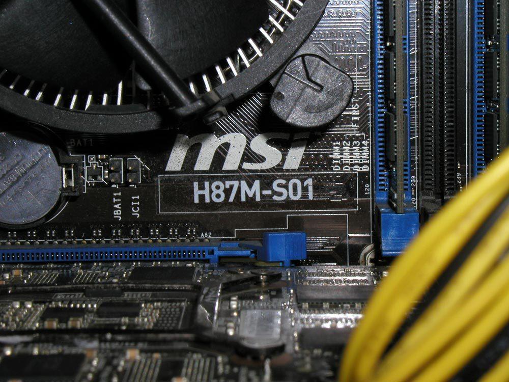 自作系PC Corei7(3.4GHz) RAM16GB GeForceGTX760 Windows10PRO 正常動作品_画像6