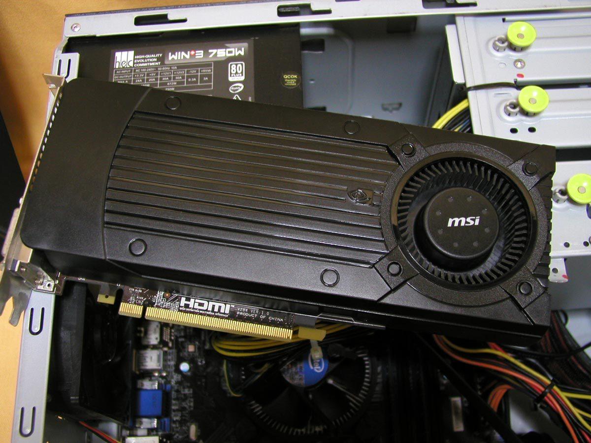 自作系PC Corei7(3.4GHz) RAM16GB GeForceGTX760 Windows10PRO 正常動作品_画像7