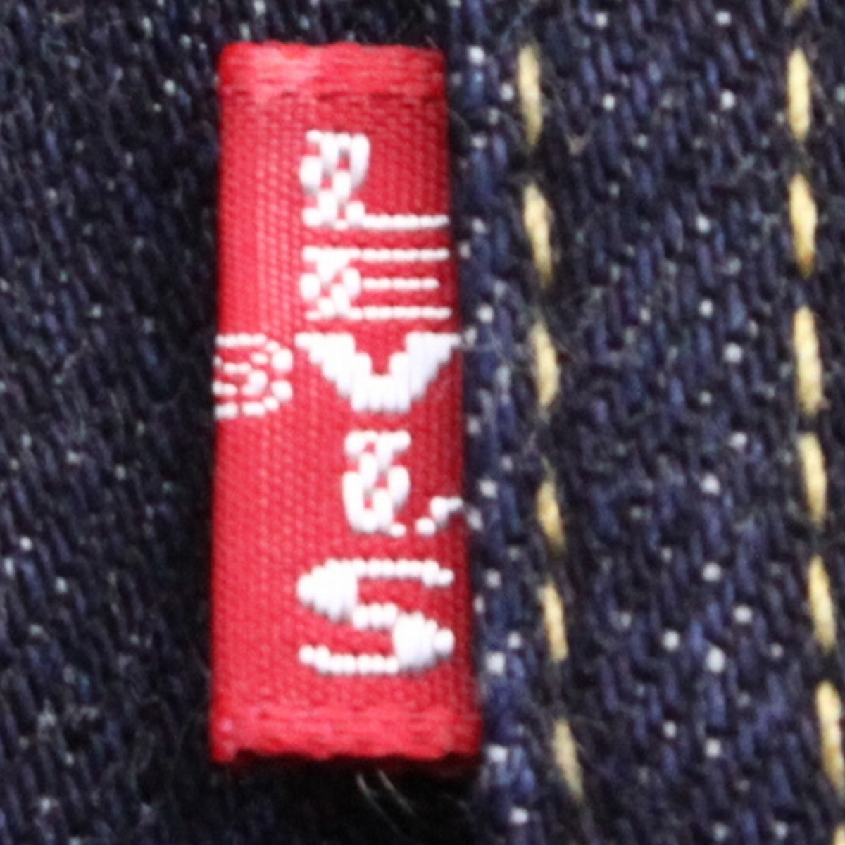 (yk80112)希少美品LEVI'Sリーバイス557XX米国製サイズ40 (BIG'E' ヴィンテージ復刻 99年製 70557-0006 サード デニム ジャケット )_画像5