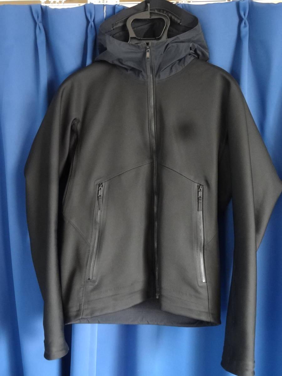 送料無料 美品 正規品 カナダ製 希少 アークテリクス ヴェイランス ジャケット XS ブラック ARCTERYX VEILANCE Windstopper Hooded Jacket