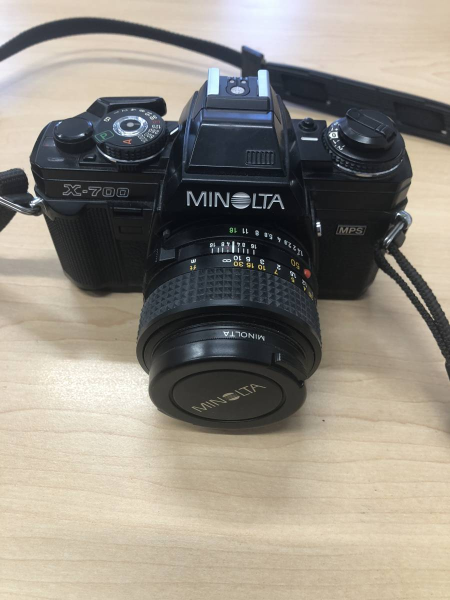 Minolta ミノルタ X-700 MPS+MD 50mm F1.4_画像1