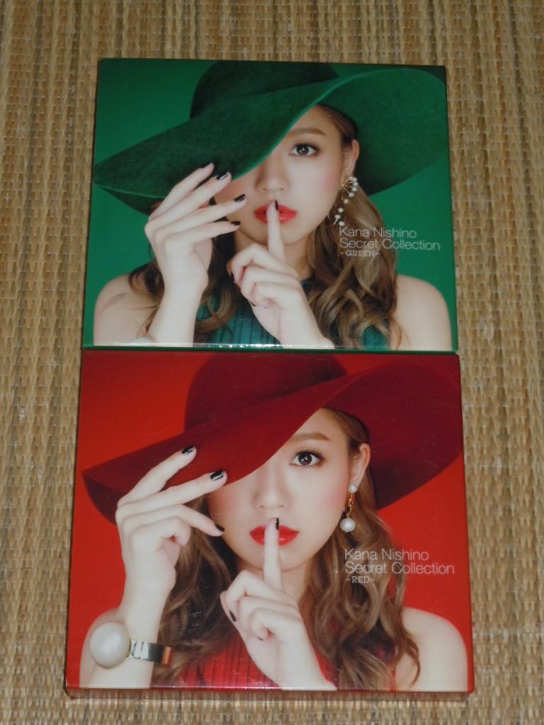 初回限定盤★西野カナ/Secret Collection RED&GREEN セット★No.1,GIRLS GIRLS,beloved,Day 7,GIRLS GIRLS,このままで