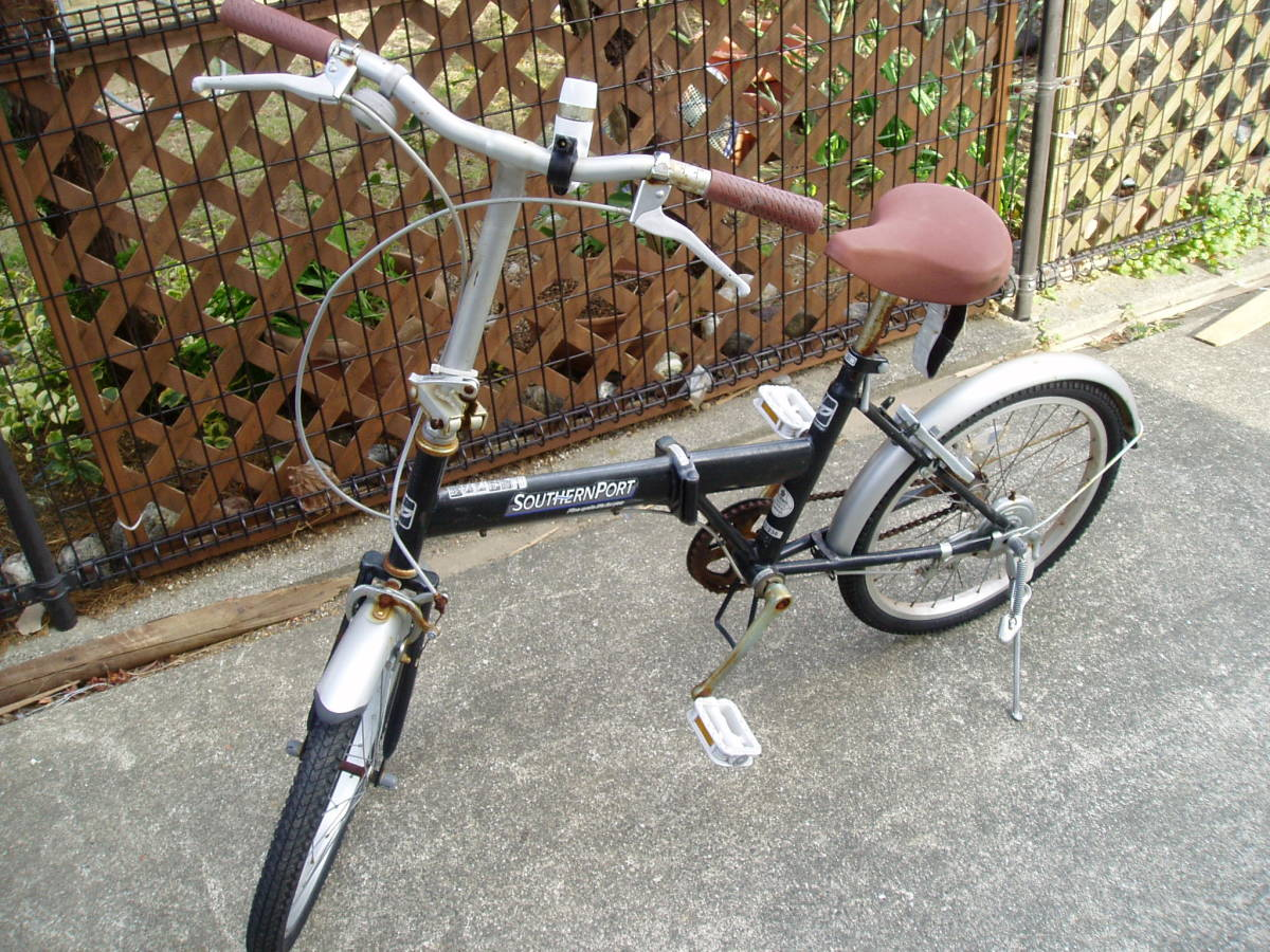 ★折畳自転車 SOUTHRN PORT (20インチ:正常走行)