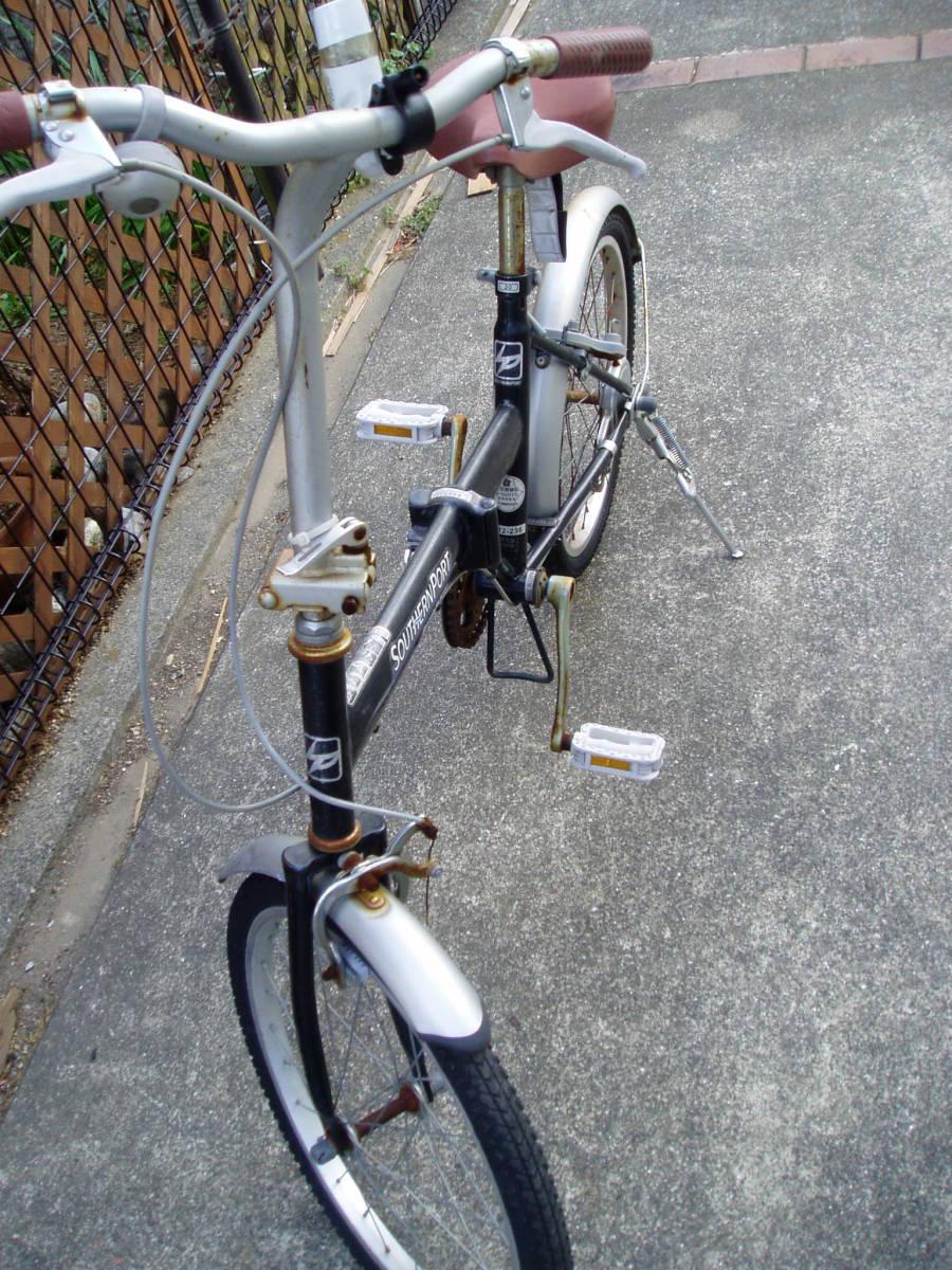 ★折畳自転車 SOUTHRN PORT (20インチ:正常走行)_画像6