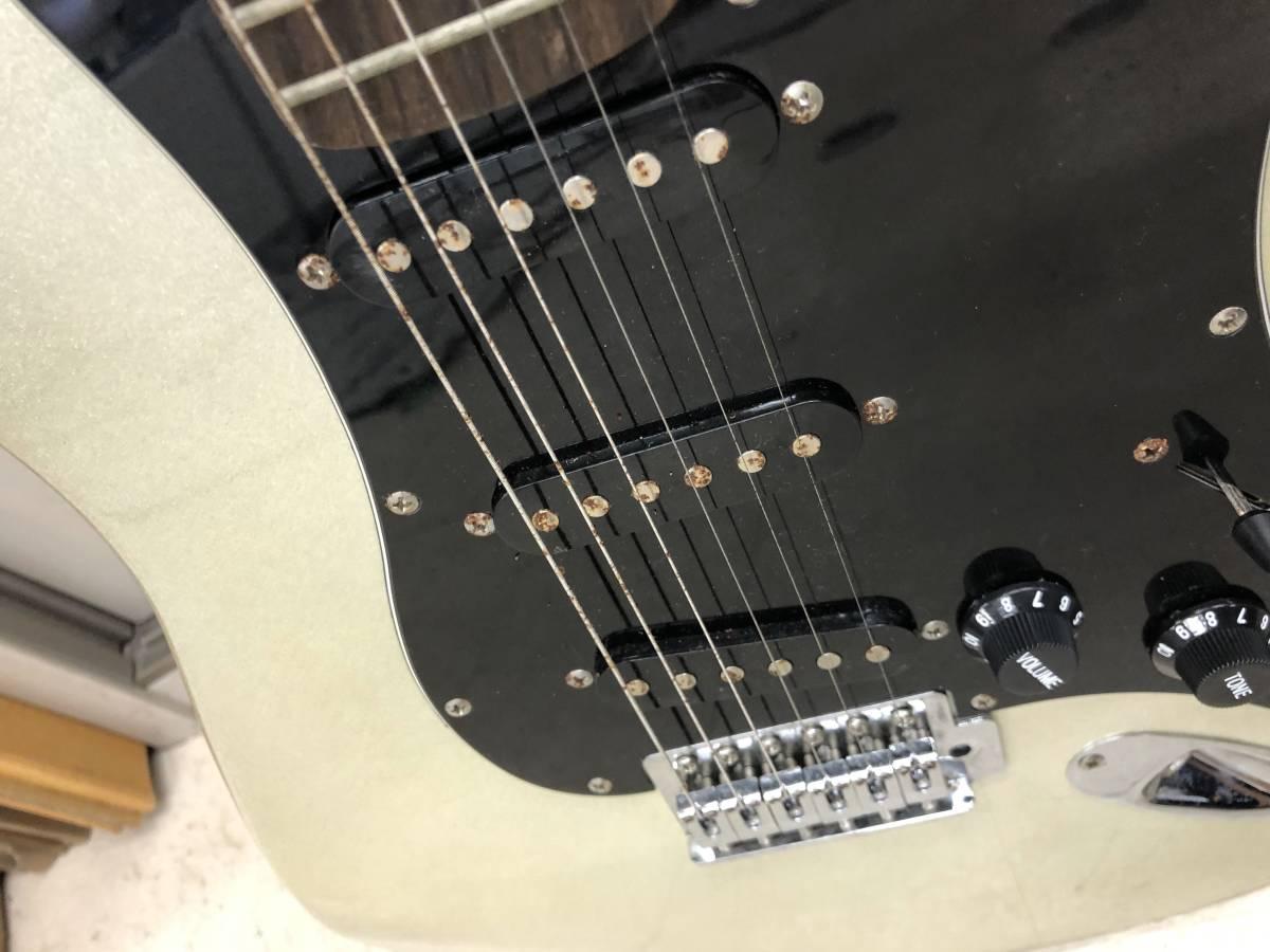 【ジャンク品】エレキギター mavis メイビス ストラト_画像5