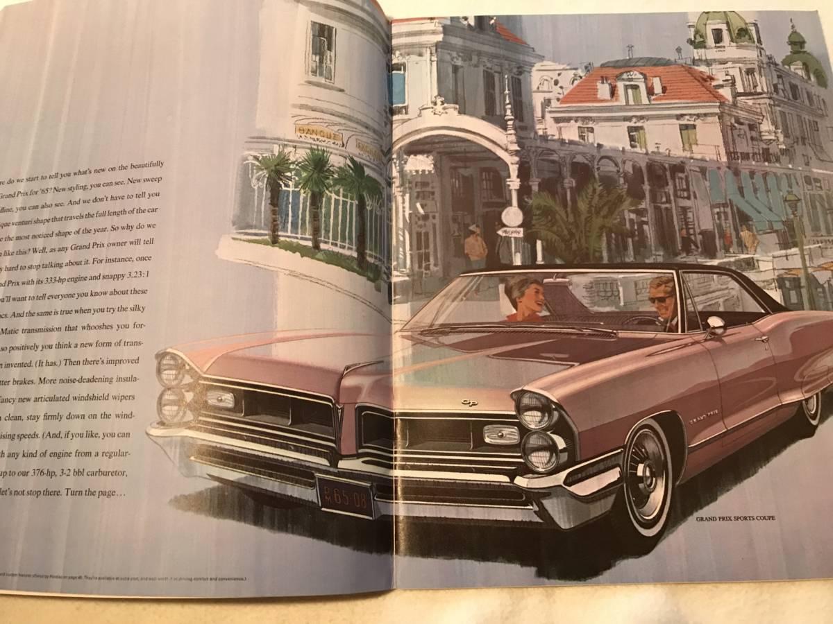 ■  1965 ポンティアック 総合カタログ ■ PONTIAC GM アメ車_画像3