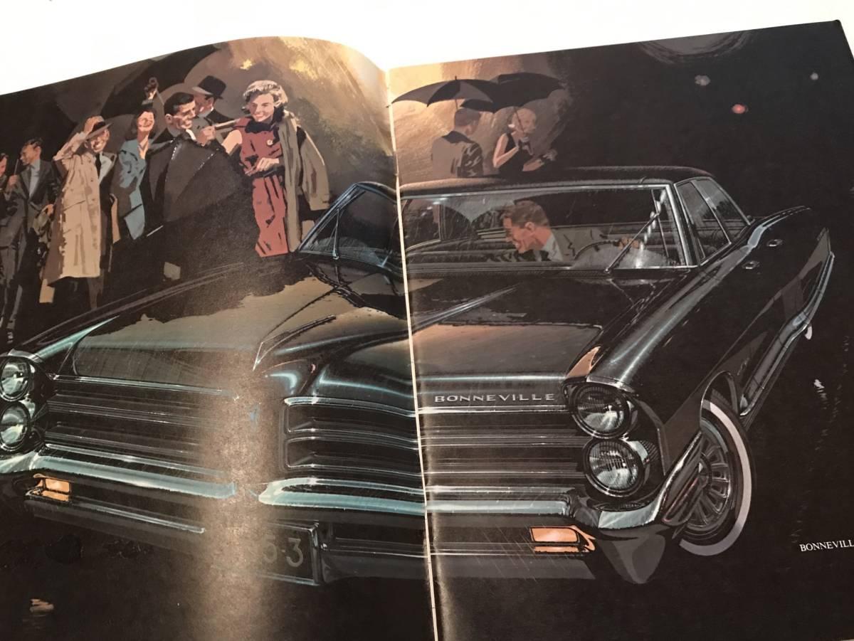 ■  1965 ポンティアック 総合カタログ ■ PONTIAC GM アメ車_画像2