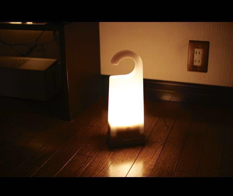 新品 無印良品 LED持ち運びできるあかり 型番:HCR‐81 定価6,890円 懐中電灯