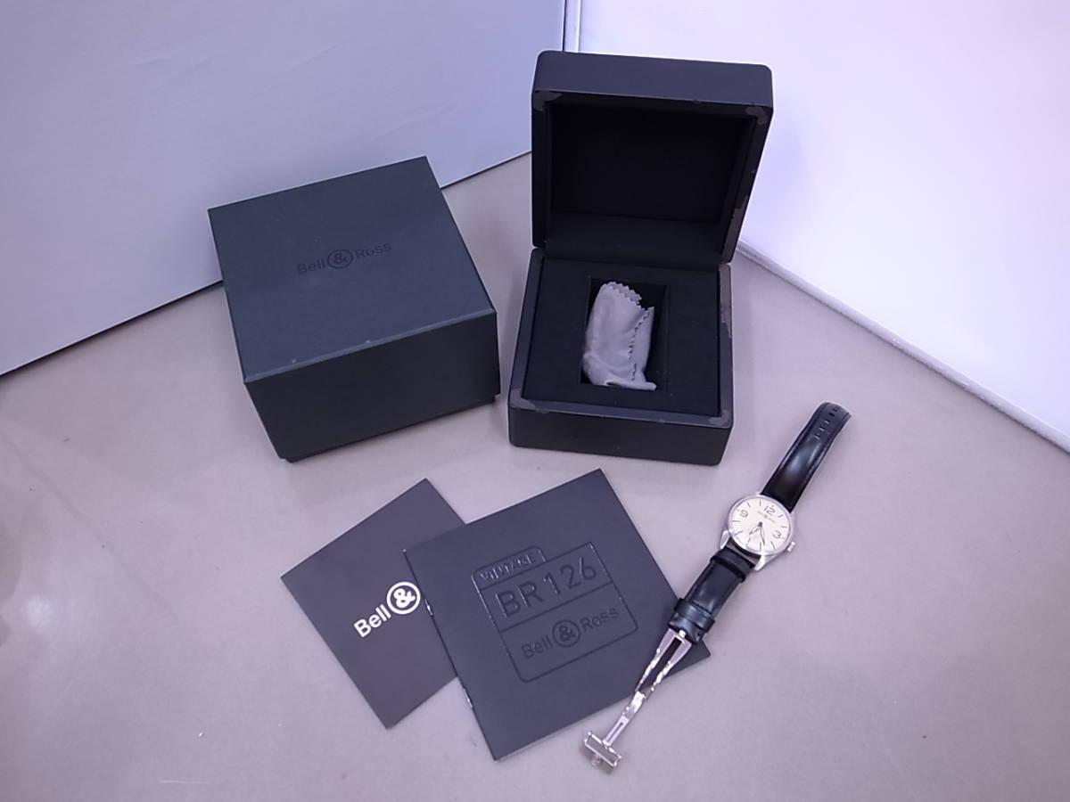◆◇ベル&ロス Bell&Ross V-BR123ORIG-BE-CA 自動巻き メンズ腕時計◇◆_画像1