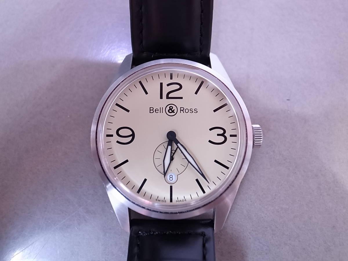 ◆◇ベル&ロス Bell&Ross V-BR123ORIG-BE-CA 自動巻き メンズ腕時計◇◆_画像2